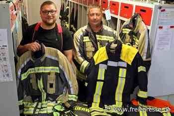Feuerwehr erhält moderne Schutzkleidung - Freie Presse