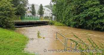Hochwasservorsorge in Erkrath: Düssel und Hubbelrather Bach sind die entscheidene Ursache - Lokal Anzeiger Erkrath