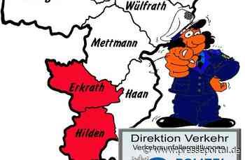 POL-ME: Verkehrsunfallfluchten aus dem Kreisgebiet - Erkrath / Hilden - 2107101 - Presseportal.de