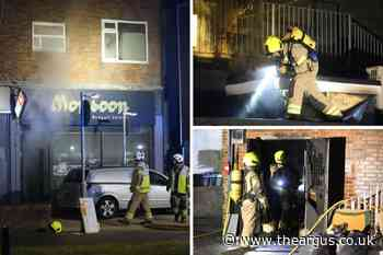 Firefighters work through the night to tackle blaze at Worthing restaurant