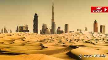 Dubai manipuliert Wetter - Künstlicher Regen gegen 50 Grad Celsius Hitze! - BILD