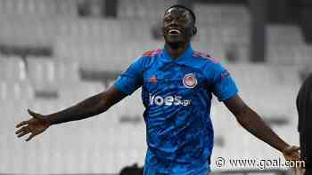 Mohamed Camara scores and gets sent off in Olympiakos' Champions League qualifying win
