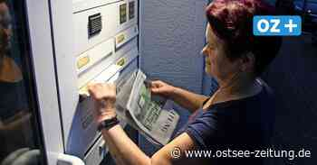 Hildegard Krause sorgt nachts für die OZ-Zustellung in Zinnowitz - Ostsee Zeitung