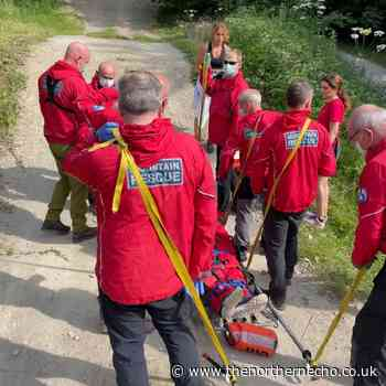 Mountain Rescue Team called to fallen Dalby Forest cyclist - The Northern Echo