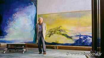 Saint-Sulpice : une œuvre de Zao Wou-ki exposée à la médiathèque - ladepeche.fr