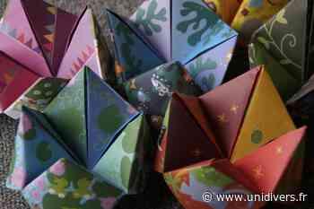 Atelier Origami Saint-Sulpice-les-Feuilles Saint-Sulpice-les-Feuilles jeudi 22 juillet 2021 - Unidivers