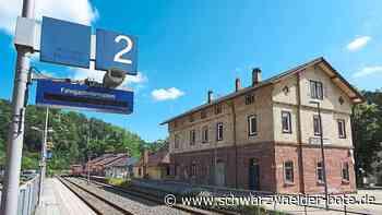 Bahn-Chaos in Wildberg - Fahrgäste müssen über geschlossene Schranken klettern - Schwarzwälder Bote