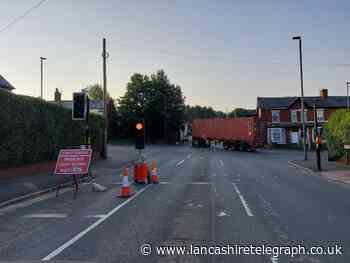 Long delays near Witton Park in Blackburn