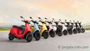 Ola Scooter to Launch in 10 Colour Options, Ola Electric Reveals Ahead of Launch