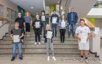 Englisch-Asse in Marktredwitz: Realschüler mit Cambridge Zertifikat - Frankenpost - Frankenpost