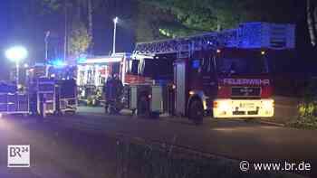 Feuer im Gästehaus: Hoher Sachschaden in Marktredwitz - BR24