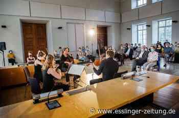 Esslinger Podium-Festival - Die Streicher spielen im Amtsgericht auf - esslinger-zeitung.de
