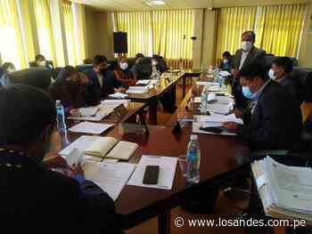 Emiten acuerdo regional para iniciar acciones legales contra Moquegua - Los Andes Perú