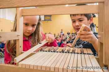 Kinder tauchen in die Welt der Orgeln ein - Freie Presse