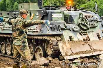 Soldaten leisten Katastrophenhilfe - Freie Presse