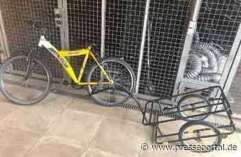 POL-HK: Soltau: Eigentümer gesucht - Polizei stellt nach Diebstahl Fahrrad mit Anhänger sicher - Presseportal.de