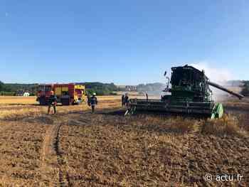 Oise. Cinq hectares de champs partent en fumée à Courcelles-lès-Gisors - actu.fr