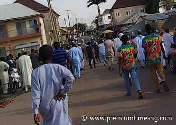Chaos as Civilian JTF clash with hoodlums in Kaduna - Premium Times - Premium Times