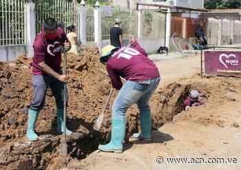 Ejecutan sustitución de tuberías de aguas servidas en El Socorro 2 - ACN ( Agencia Carabobeña de Noticias)