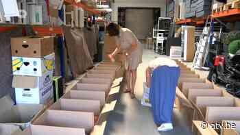 Ondernemers zamelen spullen in in Aartselaar... 'er is nog heel wat nodig' - ATV