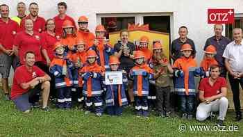 Beste Voraussetzungen für den Feuerwehrnachwuchs in Arnsgrün - Ostthüringer Zeitung