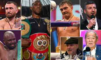 Anthony Joshua vs Oleksandr Usyk fight predictions from Dillian Whyte, Bob Arum and Co