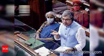Pegasus row: TMC members tear papers as Ashwini Vaishnaw reads statement in Rajya Sabha