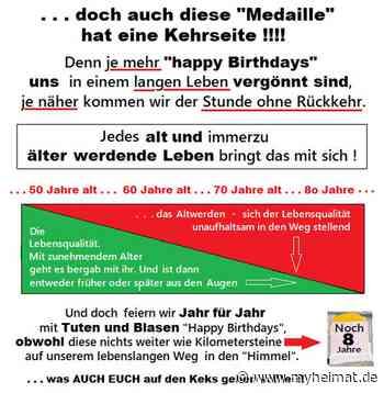 """""""Happy Birthday to you"""" . . . schön und gut !!!!!! - Seelze - myheimat.de - myheimat.de"""
