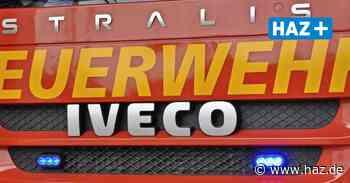 Seelze: Feuerwehr rückt zum Rangierbahnhof aus - Hannoversche Allgemeine