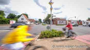 Umbauvorhaben für die Ueser Kreuzung in Achim vorgestellt - WESER-KURIER - WESER-KURIER