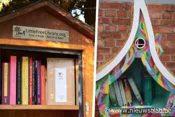 Op zoek naar een nieuw boek, nu de bib dicht is? Gent heeft meer dan 50 boekenruilkastjes - Het Nieuwsblad