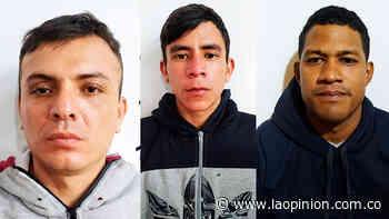 La banda 'Maracay' no duró mucho delinquiendo en Pamplona   Noticias de Norte de Santander, Colombia y el mundo - La Opinión Cúcuta