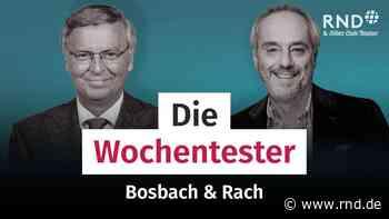 Bosbach & Rach – mit Boris Palmer, Stefan Aust und Fränzi Kühne - RND