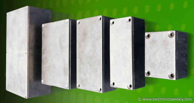 Aluminium die-cast enclosures are tough, yet easy to machine