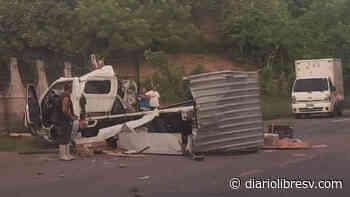 Accidente vial deja tres lesionados en Usulután - Diario Libre