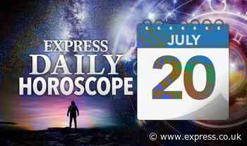 Daily horoscope for July 20: Your star sign reading, astrology and zodiac forecast - Express