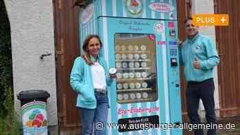 Dieser Automat liefert in Bellenberg Eis rund um die Uhr - Augsburger Allgemeine