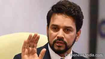 Agencies doing their work, no government interference: Anurag Thakur on IT raids on Dainik Bhaskar, Bharat Samachar