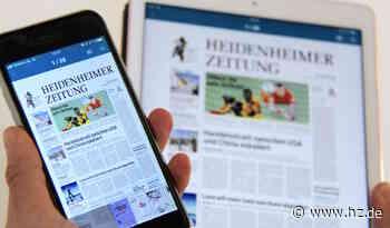 Probleme bei der Zeitungszustellung in Steinheim und Gerstetten: Hier die HZ heute online als ePaper lesen - Heidenheimer Zeitung