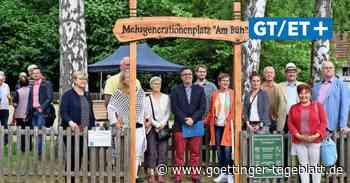 Spielplätze in Hardegsen saniert und Mehrgenerationenplatz angelegt - Göttinger Tageblatt