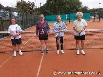 Four wins from four for Melton TC Ladies' Vets - Melton Times