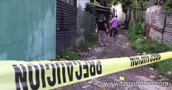 Asesinan a veterano de guerra en comunidad La Cuchilla, Antiguo Cuscatlán - Solo Noticias