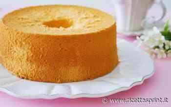 Chiffon cake alla sambuca   Gustosa e buona, per gli adulti, a merenda - RicettaSprint