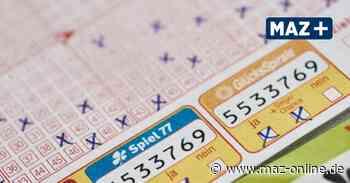 Brandenburg: Lotto-Millionärin löst Tippschein von Euro-Jackpot in Potsdam ein - Märkische Allgemeine Zeitung
