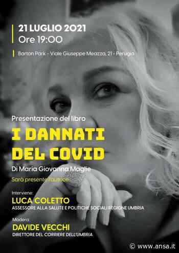 A Perugia libro Maria Giovanna Maglie 'I dannati del Covid' - Agenzia ANSA