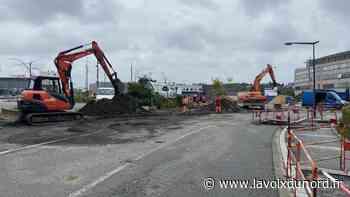 Maubeuge: des travaux boulevard de l'Europe pour le futur Pôle gare - La Voix du Nord