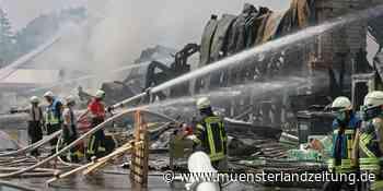 Gastronomen laden Feuerwehr, DRK und THW nach Großbrand zum Konzert ein - Münsterland Zeitung