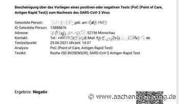 Corona-Zahlen: Monschau: Kein neuer Fall seit fast einem Monat - Aachener Zeitung