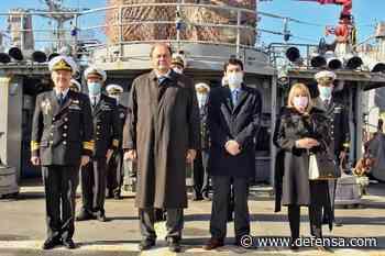 El embajador de Alemana en Uruguay visita el navío General Artigas, remotorizado por Lurssen - Noticias Defensa informacion de las fuerzas armadas de uruguay - Defensa.com
