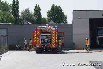 Afvalcontainer van tuinarchitect vliegt in brand door hitte
